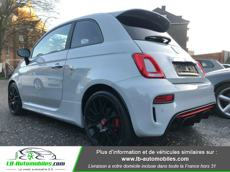 Abarth 595 1.4 Turbo T-Jet 165 ch Gris occasion à Beaupuy - photo n°10