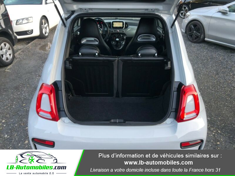 Abarth 595 1.4 Turbo T-Jet 165 ch Gris occasion à Beaupuy - photo n°8