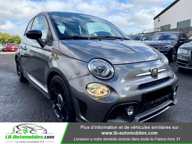 Abarth 595 1.4 Turbo T-Jet 165 ch Gris occasion à Beaupuy - photo n°9