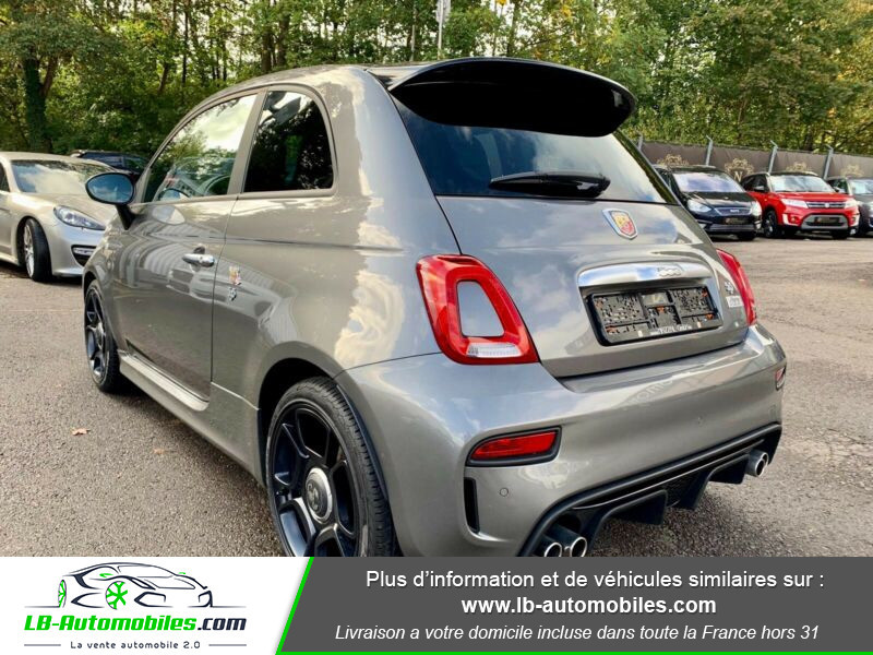 Abarth 595 1.4 Turbo T-Jet 165 ch Gris occasion à Beaupuy - photo n°12