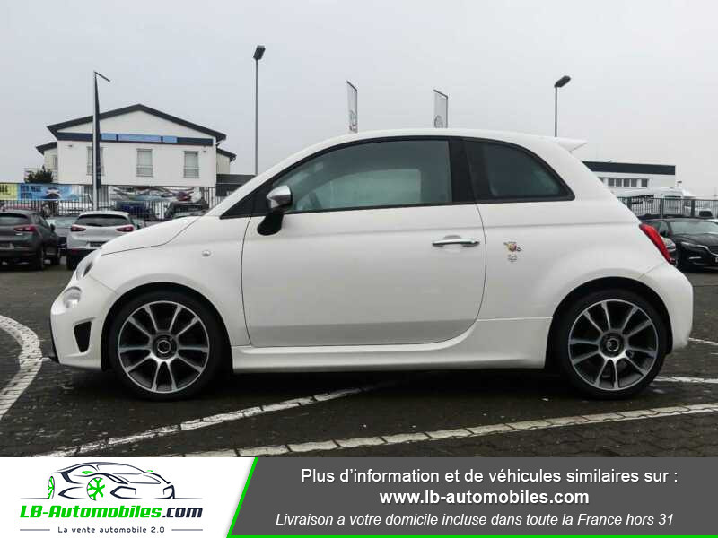 Abarth 595 1.4 Turbo T-Jet 165 ch Blanc occasion à Beaupuy - photo n°10