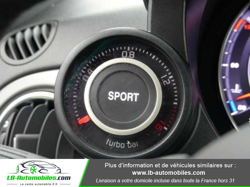 Abarth 595 1.4 Turbo T-Jet 165 ch Blanc occasion à Beaupuy - photo n°7