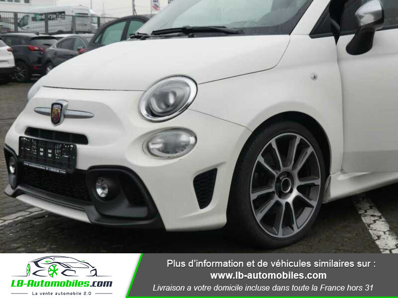 Abarth 595 1.4 Turbo T-Jet 165 ch Blanc occasion à Beaupuy - photo n°13