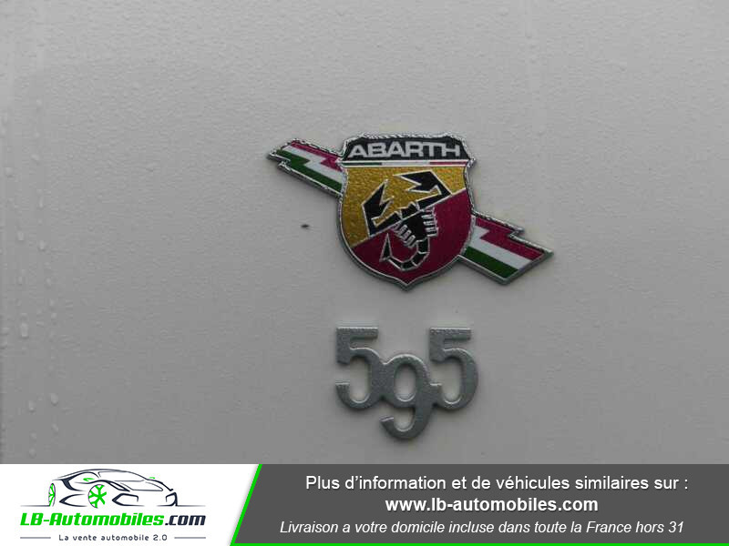 Abarth 595 1.4 Turbo T-Jet 165 ch Blanc occasion à Beaupuy - photo n°9
