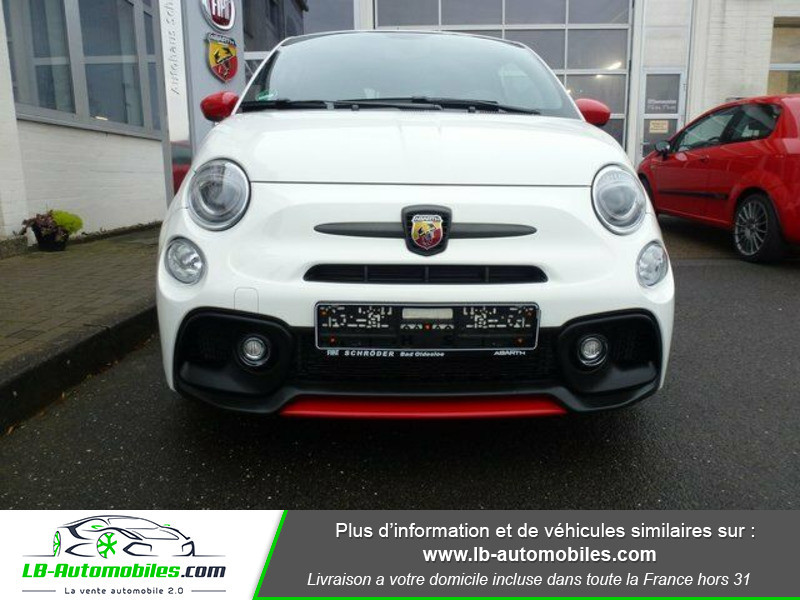 Abarth 595 1.4 Turbo T-Jet 180 ch Blanc occasion à Beaupuy - photo n°14