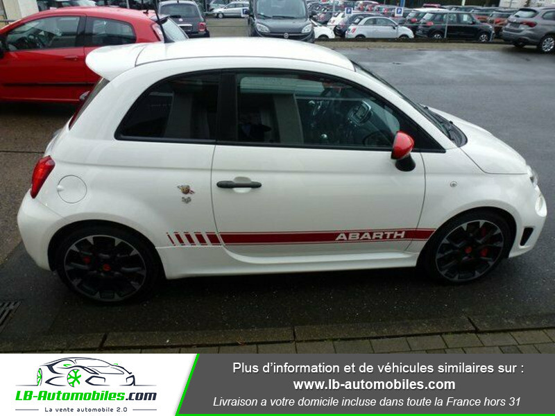 Abarth 595 1.4 Turbo T-Jet 180 ch Blanc occasion à Beaupuy - photo n°15