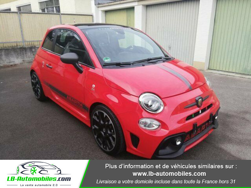 Abarth 595 1.4 Turbo T-Jet 180 ch Rouge occasion à Beaupuy - photo n°5