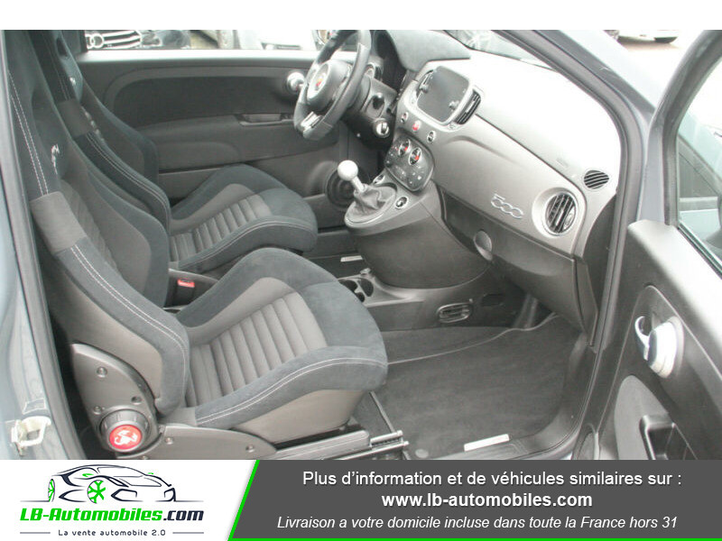 Abarth 595 1.4 Turbo T-Jet 180 ch Gris occasion à Beaupuy - photo n°5
