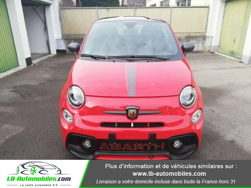Abarth 595 1.4 Turbo T-Jet 180 ch Rouge occasion à Beaupuy - photo n°6