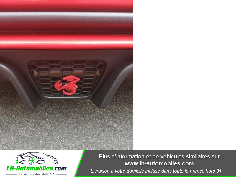 Abarth 595 1.4 Turbo T-Jet 180 ch Rouge occasion à Beaupuy - photo n°7