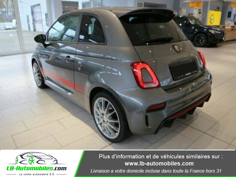 Abarth 595 1.4 Turbo T-Jet 180 ch Gris occasion à Beaupuy - photo n°14