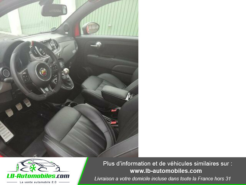 Abarth 595 1.4 Turbo T-Jet 180 ch Rouge occasion à Beaupuy - photo n°2
