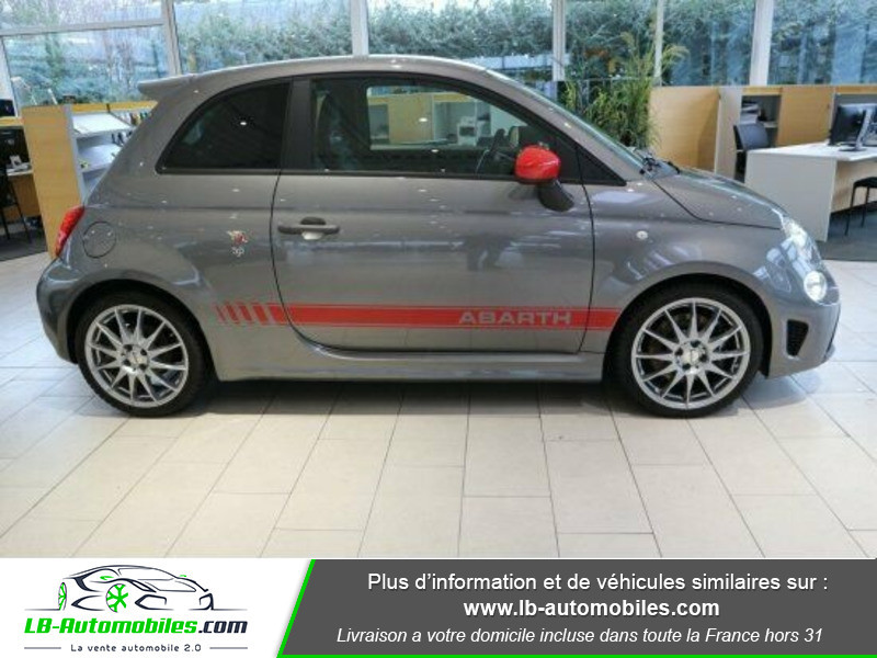 Abarth 595 1.4 Turbo T-Jet 180 ch Gris occasion à Beaupuy - photo n°10
