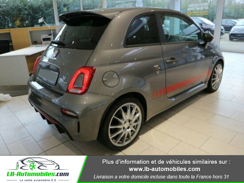 Abarth 595 1.4 Turbo T-Jet 180 ch Gris occasion à Beaupuy - photo n°3