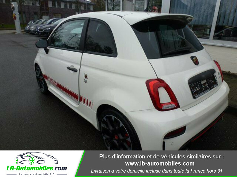 Abarth 595 1.4 Turbo T-Jet 180 ch Blanc occasion à Beaupuy - photo n°12