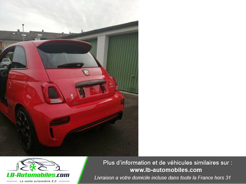 Abarth 595 1.4 Turbo T-Jet 180 ch Rouge occasion à Beaupuy - photo n°8