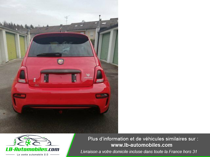 Abarth 595 1.4 Turbo T-Jet 180 ch Rouge occasion à Beaupuy - photo n°11