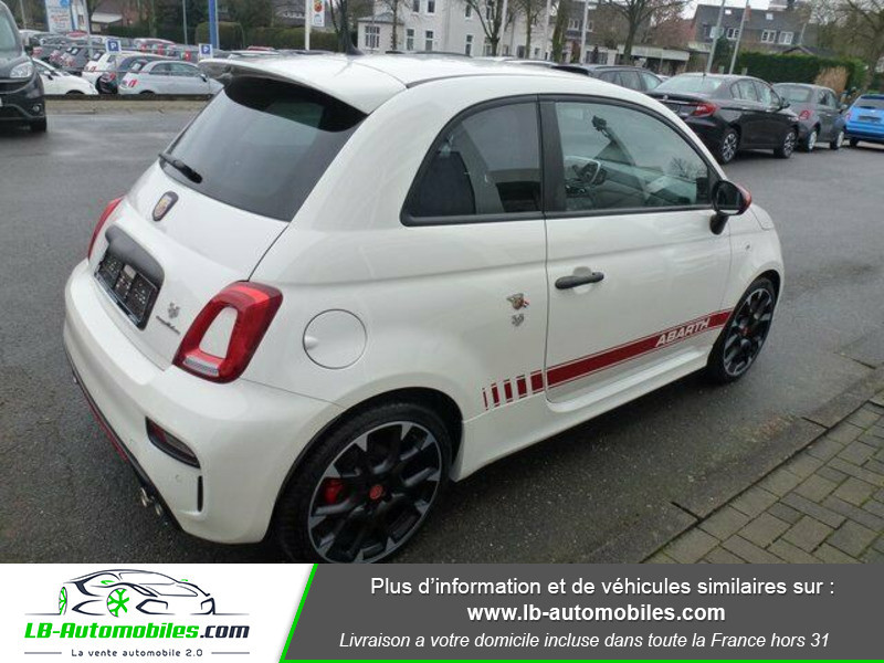 Abarth 595 1.4 Turbo T-Jet 180 ch Blanc occasion à Beaupuy - photo n°3