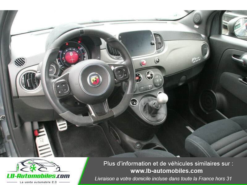 Abarth 595 1.4 Turbo T-Jet 180 ch Gris occasion à Beaupuy - photo n°2