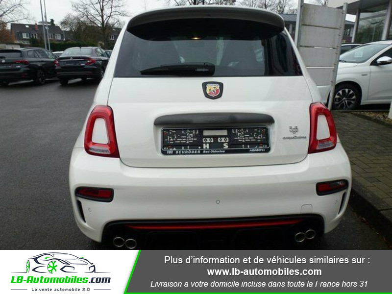 Abarth 595 1.4 Turbo T-Jet 180 ch Blanc occasion à Beaupuy - photo n°13