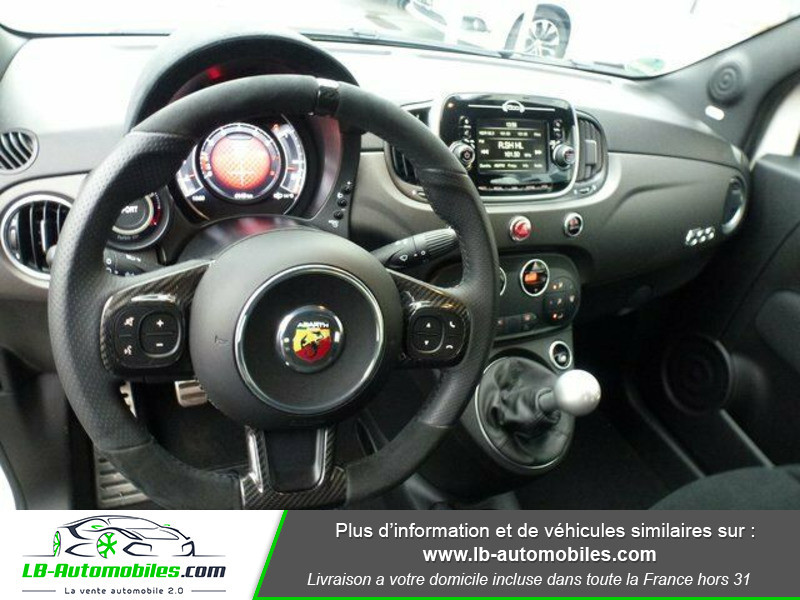 Abarth 595 1.4 Turbo T-Jet 180 ch Blanc occasion à Beaupuy - photo n°5
