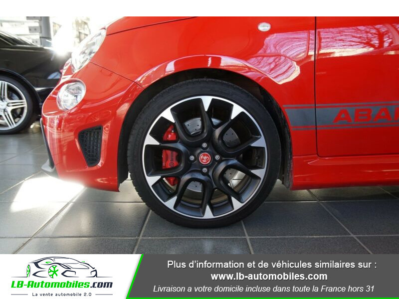 Abarth 595 1.4 Turbo T-Jet 180 ch Rouge occasion à Beaupuy - photo n°15