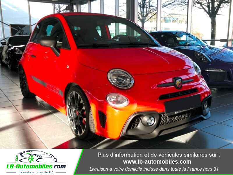 Abarth 595 1.4 Turbo T-Jet 180 ch Rouge occasion à Beaupuy - photo n°10