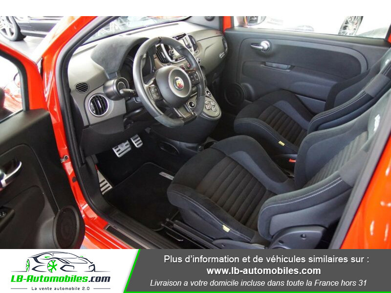 Abarth 595 1.4 Turbo T-Jet 180 ch Rouge occasion à Beaupuy - photo n°4