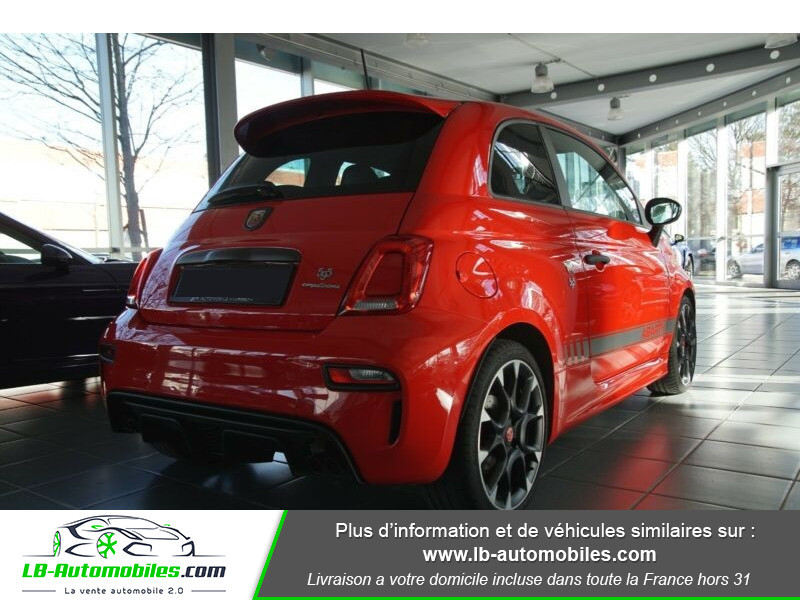Abarth 595 1.4 Turbo T-Jet 180 ch Rouge occasion à Beaupuy - photo n°3