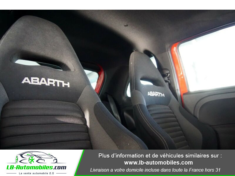 Abarth 595 1.4 Turbo T-Jet 180 ch Rouge occasion à Beaupuy - photo n°9