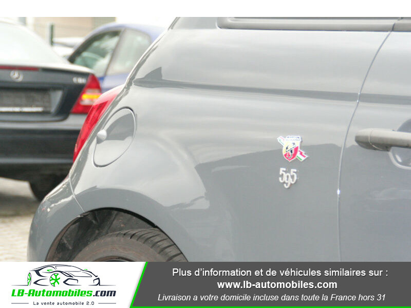 Abarth 595 1.4 Turbo T-Jet 180 ch Gris occasion à Beaupuy - photo n°8