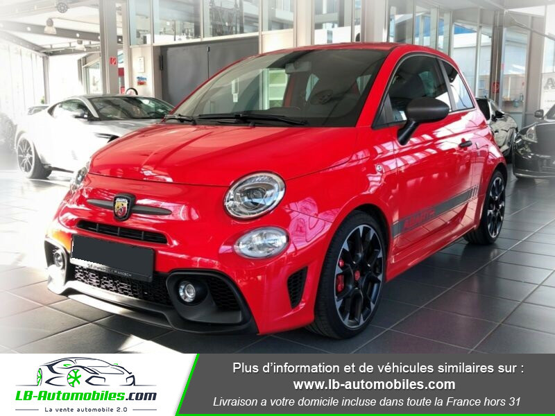 Abarth 595 1.4 Turbo T-Jet 180 ch Rouge occasion à Beaupuy