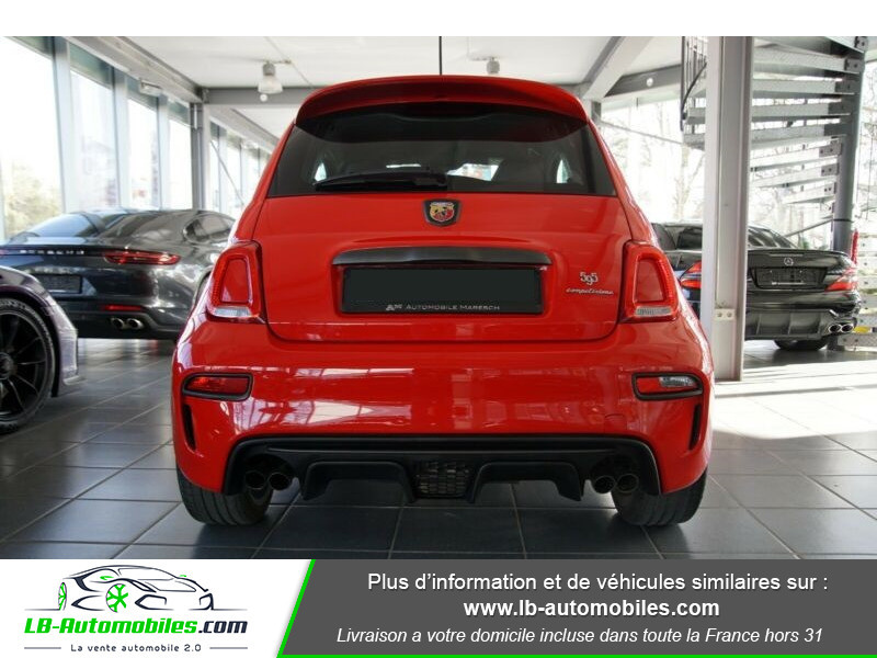 Abarth 595 1.4 Turbo T-Jet 180 ch Rouge occasion à Beaupuy - photo n°12