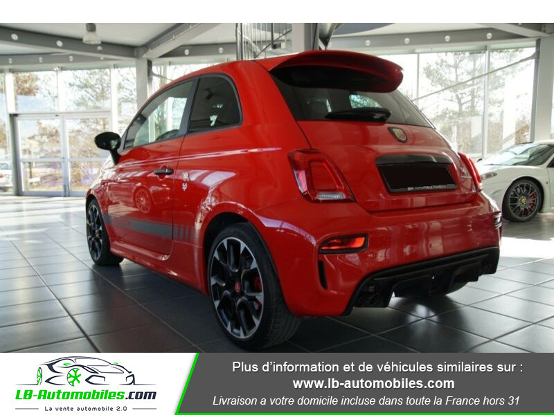 Abarth 595 1.4 Turbo T-Jet 180 ch Rouge occasion à Beaupuy - photo n°13