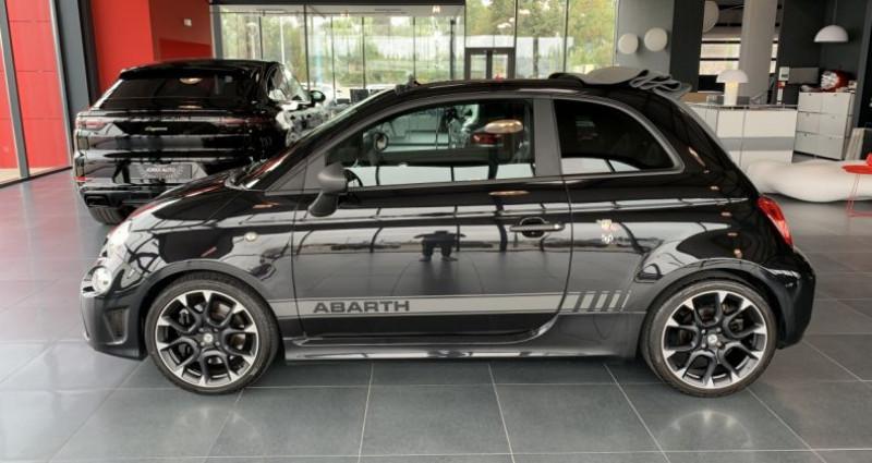 Abarth 595 595C Cabriolet 1.4 Turbo 16V T-Jet 180ch COMPETIZIONE BVA5 Noir occasion à LE SOLER - photo n°2