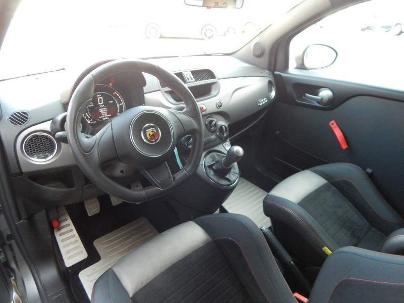 Abarth 695 1.4 T-Jet 16V biposto 190 Gris occasion à Beaupuy - photo n°2