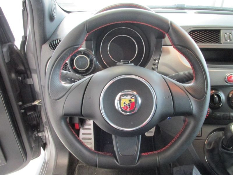 Abarth 695 Biposto Gris occasion à Beaupuy - photo n°4