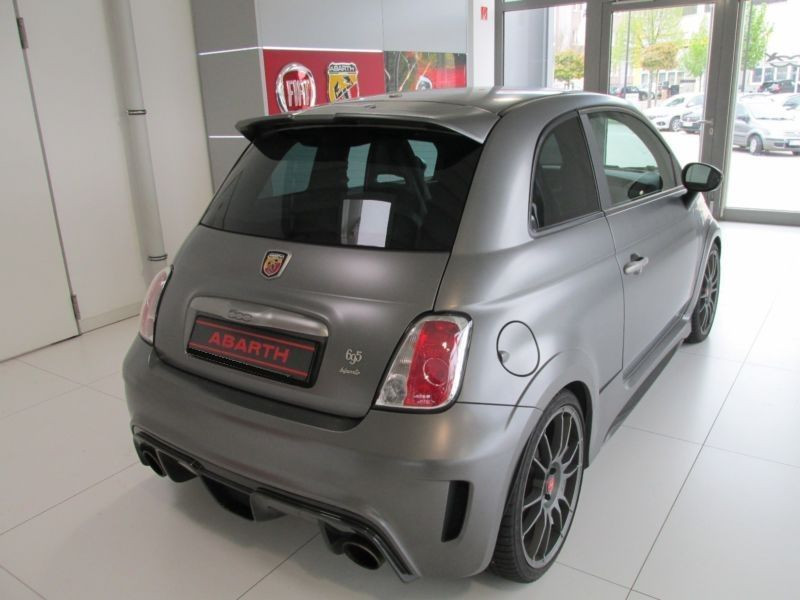 Abarth 695 Biposto Gris occasion à Beaupuy - photo n°2