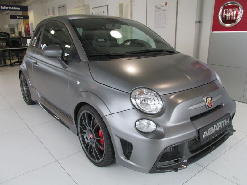 Abarth 695 Biposto Gris occasion à Beaupuy - photo n°9