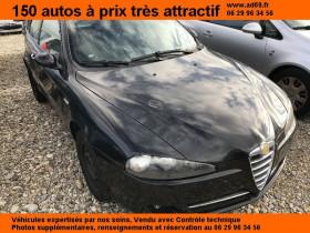 Alfa romeo 147 DIESEL 3P 120 CH 1.9 Noir 2008 - annonce de voiture en vente sur Auto Sélection.com