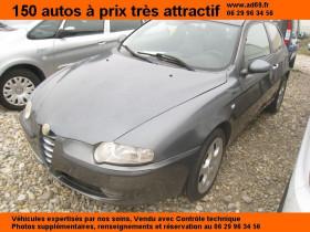 Alfa romeo 147 JTD DIESEL 3P 115CH Gris 2002 - annonce de voiture en vente sur Auto Sélection.com