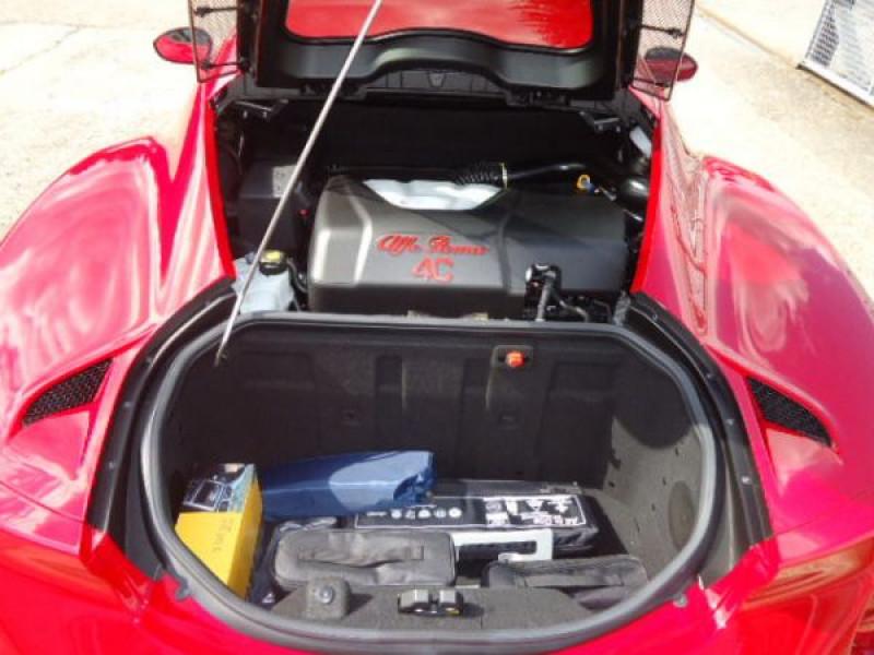 Alfa romeo 4C 1750 TBI Rouge occasion à Beaupuy - photo n°6
