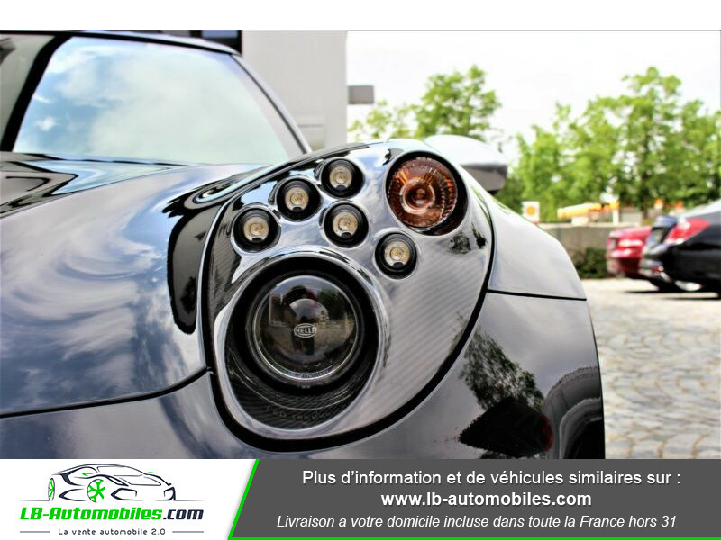 Alfa romeo 4C 1750Tbi 240 ch Noir occasion à Beaupuy - photo n°11