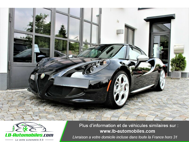Alfa romeo 4C 1750Tbi 240 ch Noir occasion à Beaupuy