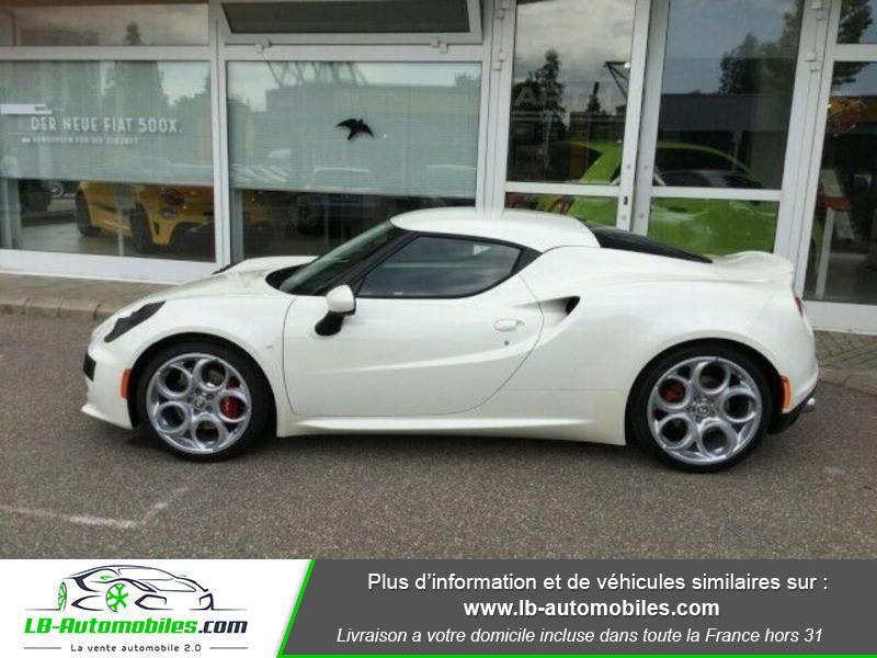 Alfa romeo 4C 1750Tbi 240 ch Blanc occasion à Beaupuy - photo n°6