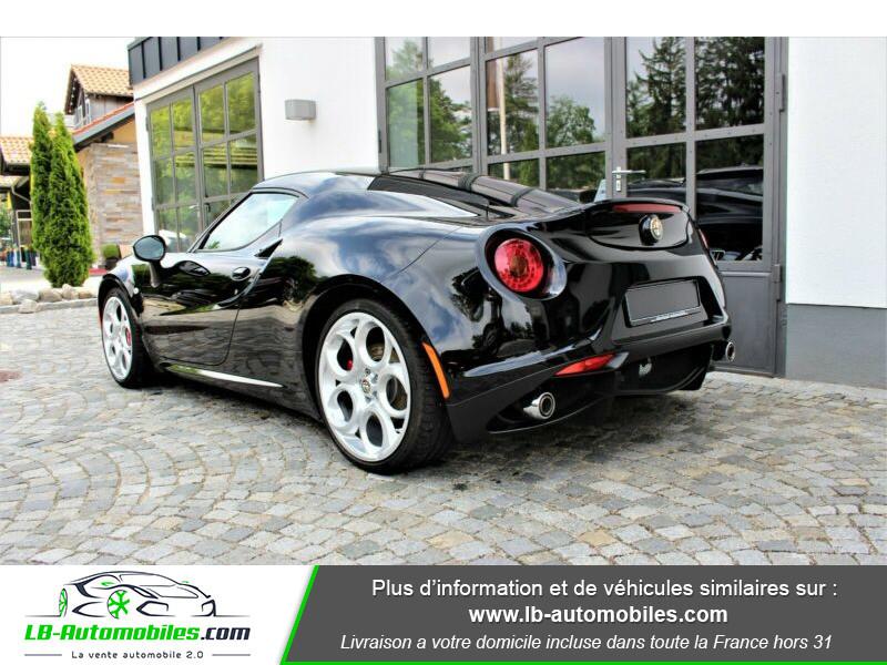 Alfa romeo 4C 1750Tbi 240 ch Noir occasion à Beaupuy - photo n°3