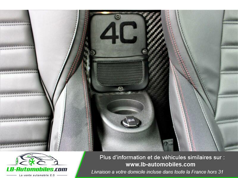 Alfa romeo 4C 1750Tbi 240 ch Noir occasion à Beaupuy - photo n°10