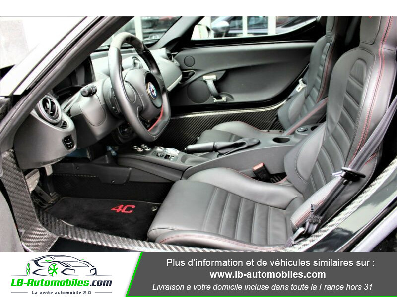 Alfa romeo 4C 1750Tbi 240 ch Noir occasion à Beaupuy - photo n°4