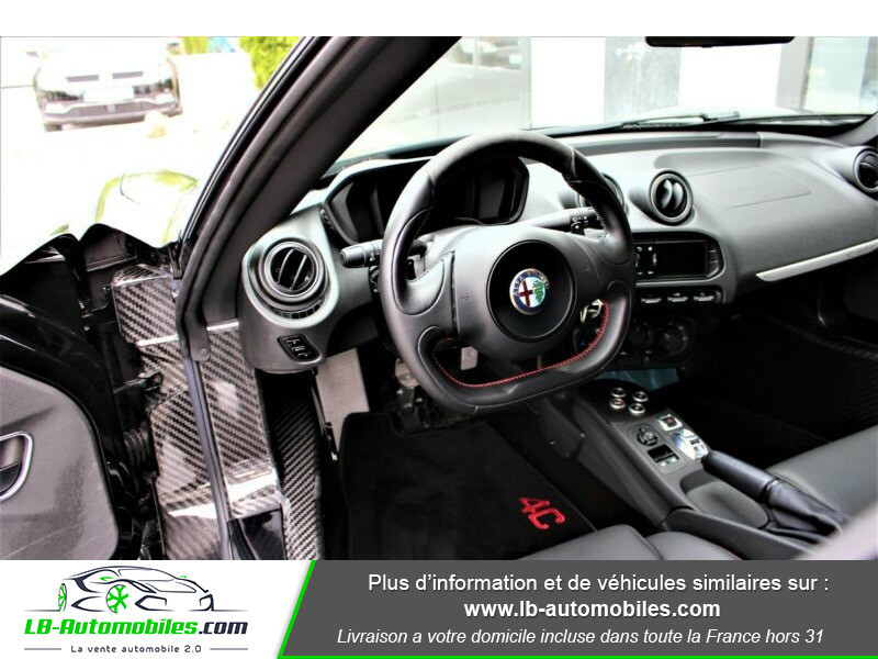 Alfa romeo 4C 1750Tbi 240 ch Noir occasion à Beaupuy - photo n°2