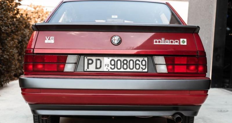 Alfa romeo 75 3000 V6 AMERICA Rouge occasion à Reggio Emilia - photo n°4